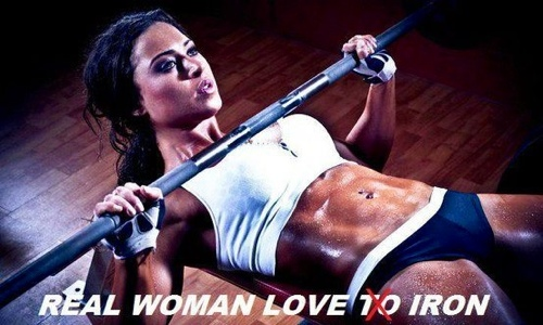 Real Women Love Iron