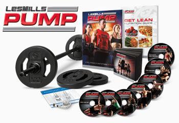 Les Mills Pump Home Workout Program