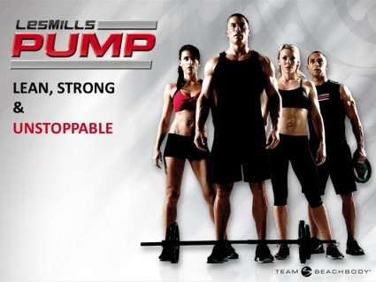 Les Mills Body Pump DVD workouts