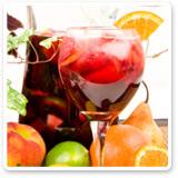 low calorie cocktails-sangria