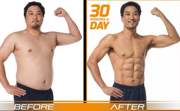 Ed's P90X3 results
