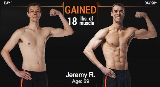 Jeremy's p90x3_results
